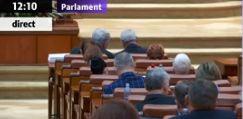 alaturi Dragnea si Tudose, in aceeasi banca la Parlament