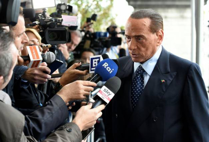 berlusconi Berlusconi, suspect de implicare in crime Cosa Nostra