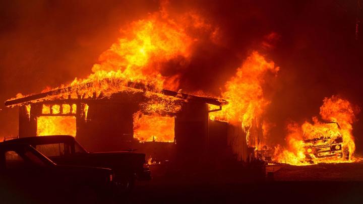 california Focul a ucis 40 de oameni in California