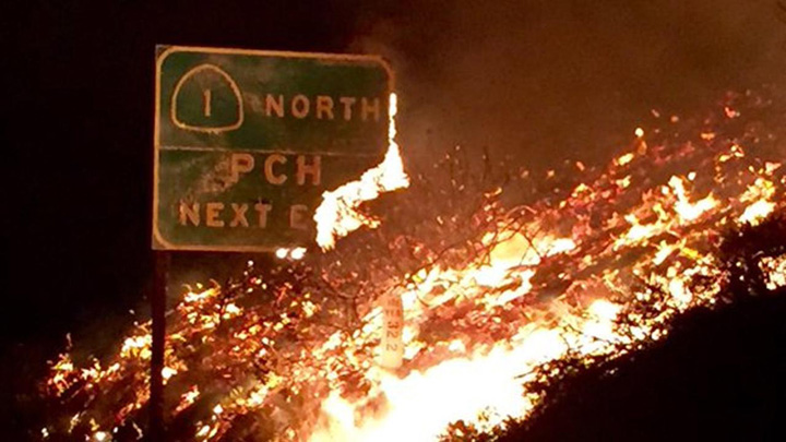 california2 Focul a ucis 40 de oameni in California