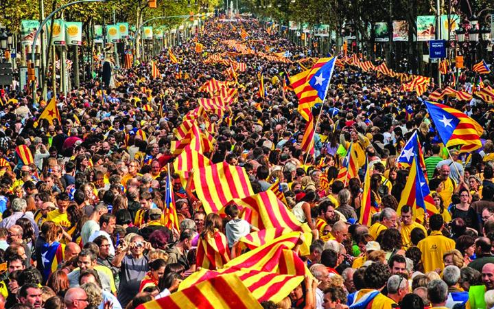 catalani mare Spania in criza, UE maraie