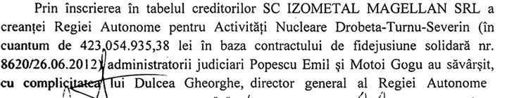cornu 1 001 Lichidatorii lui Georgica Cornu, cercetati penal pentru bancruta frauduloasa si luare de mita