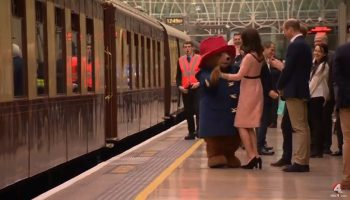 dans 350x200 Moment haios. Ducesa Kate, dansand cu celebrul urs Paddington (VIDEO)