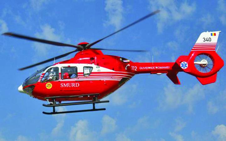"elicopter smurd 1 Raed sparge de urgenta ""pusculita"" MAI!"