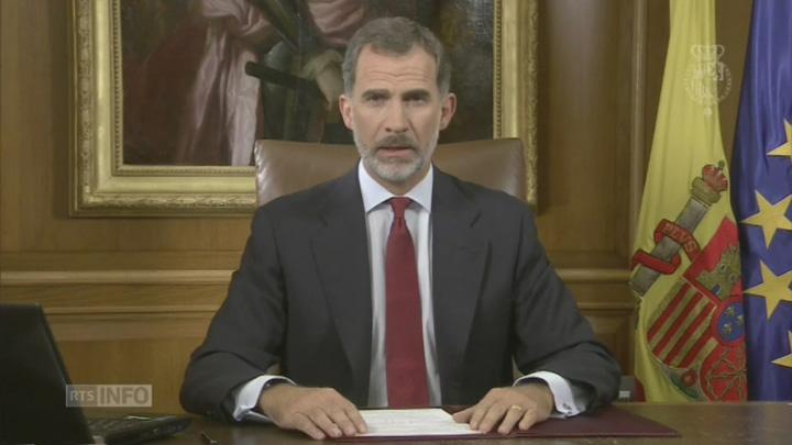 felipe Catalonia: Regele Spaniei vede rosu