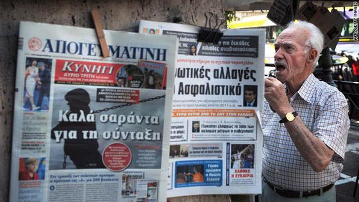 greekjournalistsstrike Grecia: doua zile fara stiri