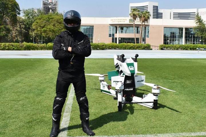 hoversurf7 Dubai pregateste politia zburatoare