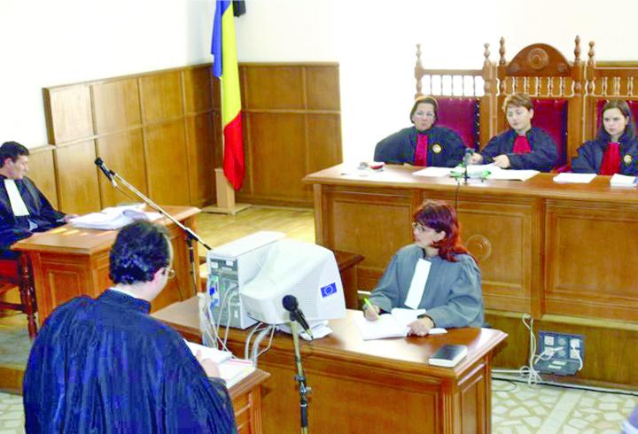 instanta sala de judecata Studioul TV secret al procurorilor!