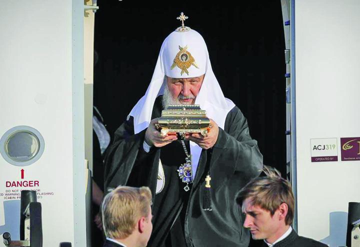 kiril mare Bratul religios al lui Putin a venit in Romania