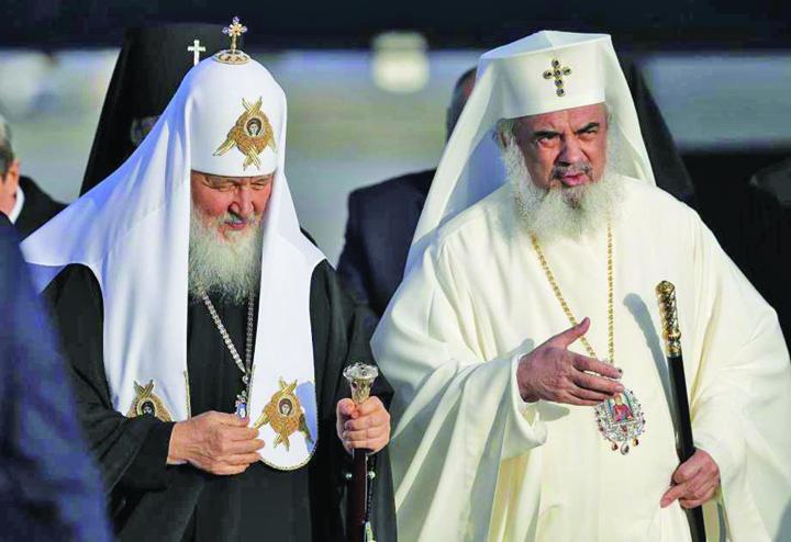 kiril si daniel Bratul religios al lui Putin a venit in Romania