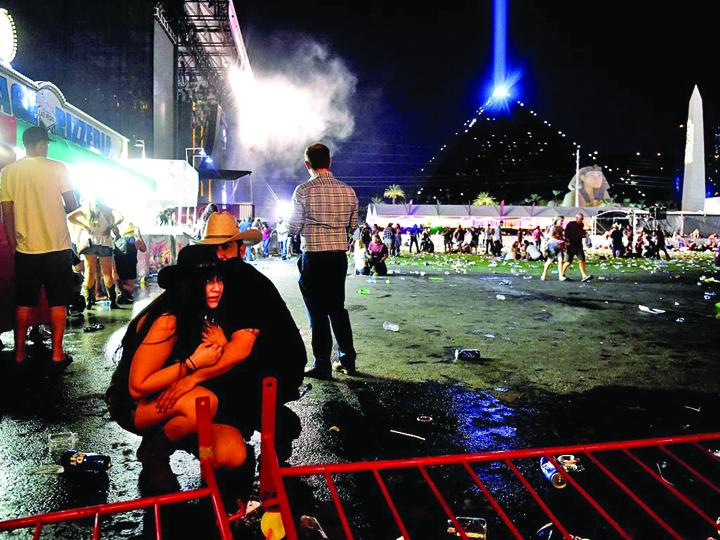 las vegas 1 Masacrul din Las Vegas: telefonul i a salvat viata!
