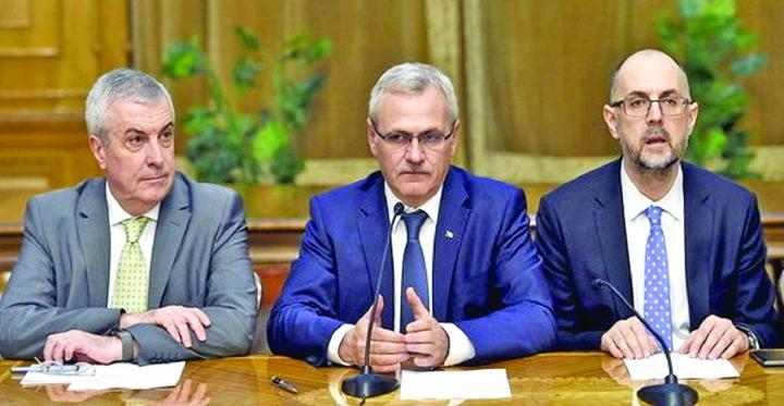 lideri udmr si PSD Si UDMR canta la unison cu Tudorel Toader