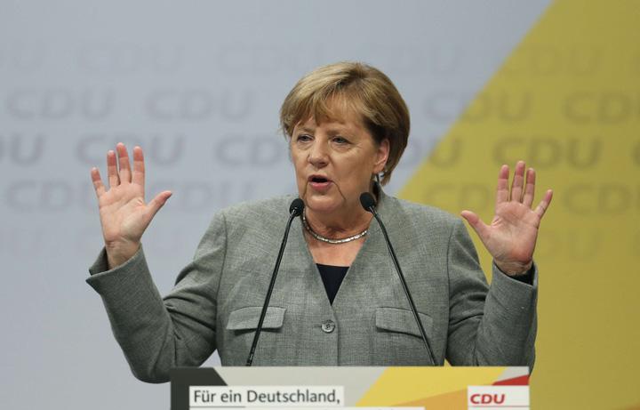 merkel Merkel strange robinetul cu refugiati