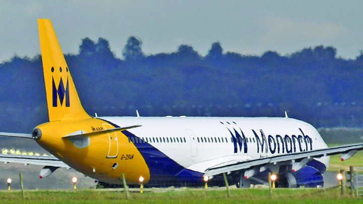 monarch Monarch Airlines a dat faliment!