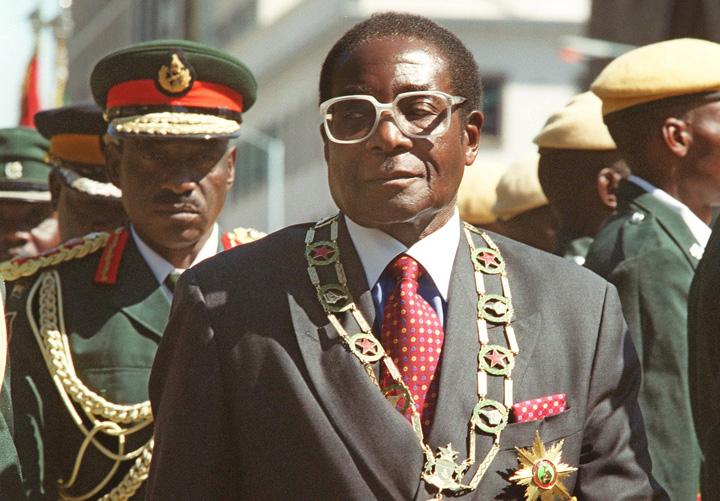 mugabe Dictatorul Robert Mugabe, ambasador al OMS