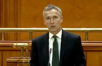 oficial 350x228 Stoltenberg, in Parlament: Romania este importanta in multe privinte