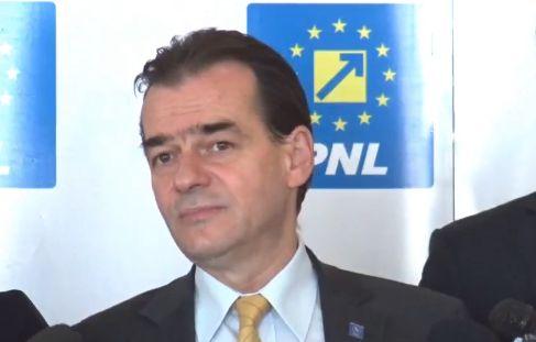 orban 1 PNL depune motiunea de cenzura impotriva Guvernului Dancila
