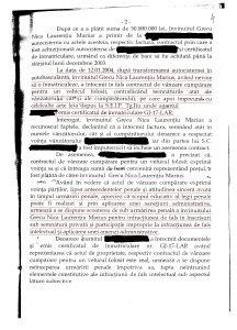 ordonanta pag 2 216x300 Procurorul penal Grecu da in judecata Parchetul pentru a i se sterge condamnarea din urma cu 13 ani