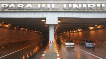 pasaj unirea 350x197 Ploile abundente din weekend nu au afectat Capitala