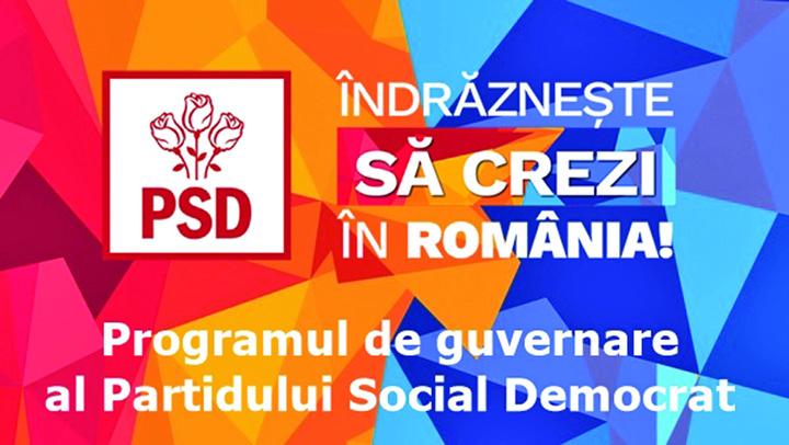 program de guvernare psd  Programul PSD, o minciuna mare cat secolul