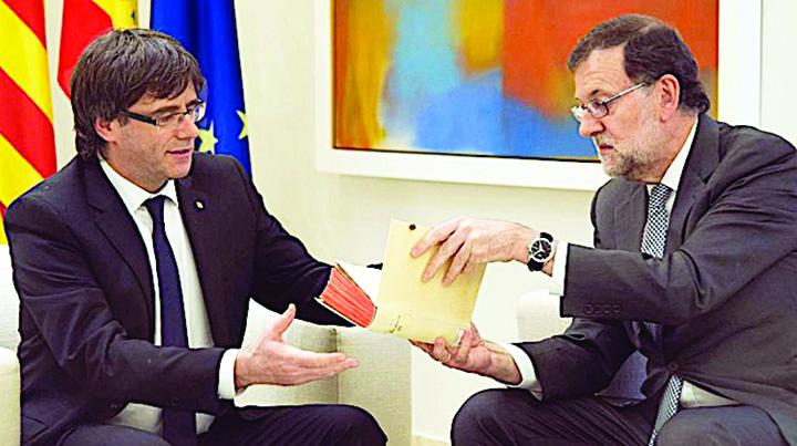 rajoy si carles Spania in criza, UE maraie