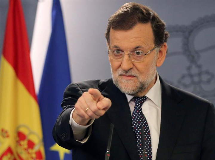 rajoy Catalonia, pusa in colivie