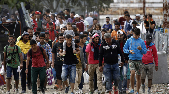"refugiati22 ""Punga"" pentru refugiati la Timisoara"
