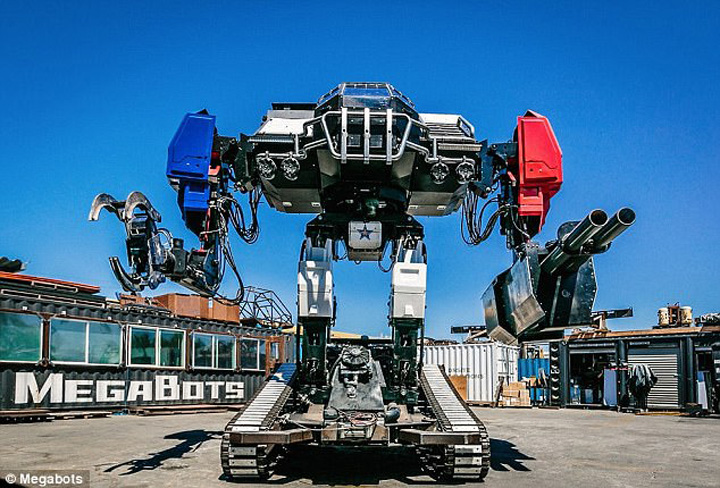 robot 5 Premiera galactica: duelul gigantilor de otel