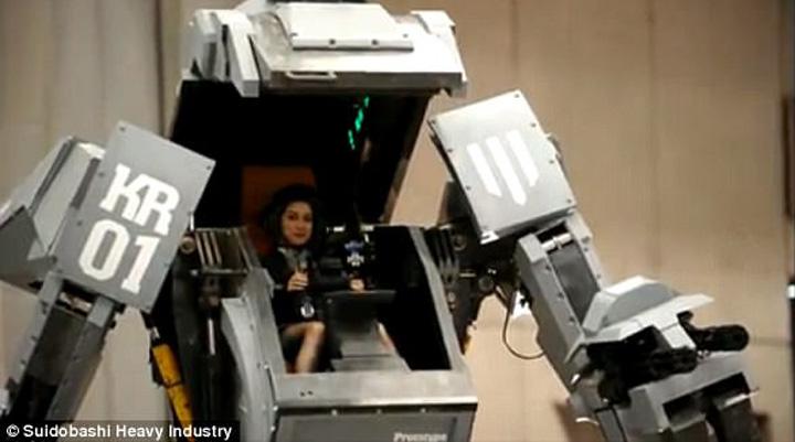 robot jap Premiera galactica: duelul gigantilor de otel