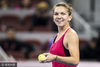 simona 350x233 Simona nu si a ascuns bucuria, dupa victoria din meciul cu Sarapova: asta face momentul un pic special