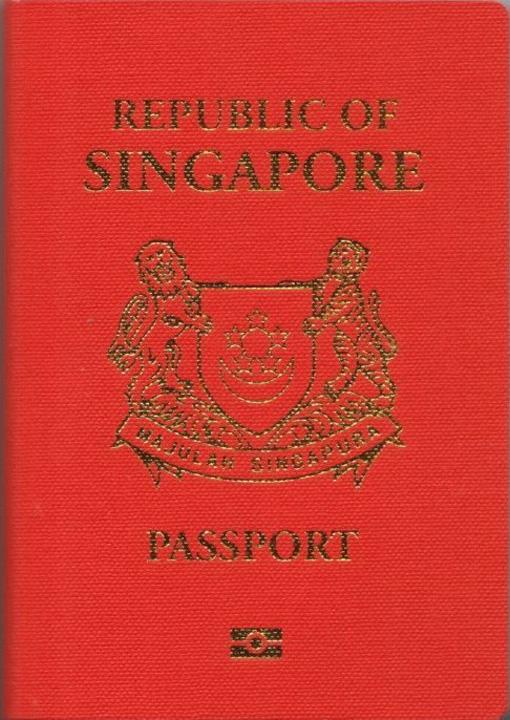 singaporean passport biom cover Cel mai puternic pasaport din lume!