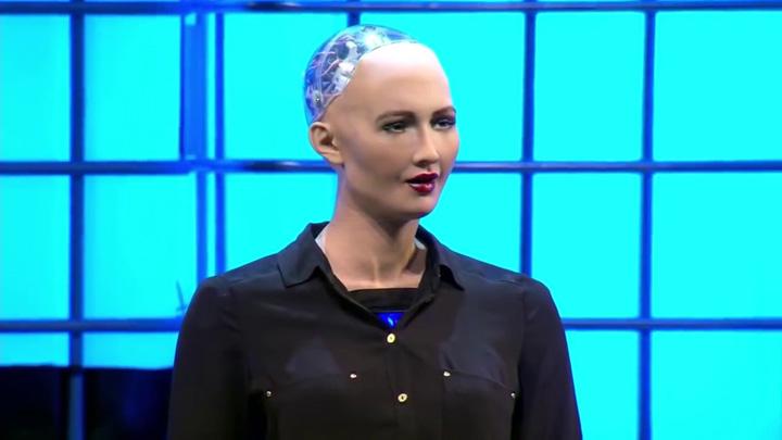 sofia 1 1 Premiera mondiala: robotul cetatean!