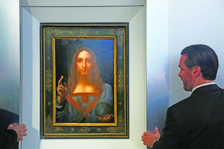 tablou leonardo Ultimul tablou al lui da Vinci, estimat la 100 milioane de dolari