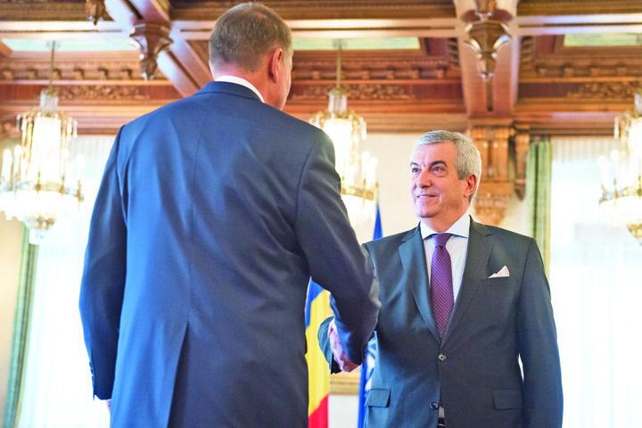"""tariceanu iohannis Tariceanu: Iohannis conduce operatiunea de salvare a """"statului paralel"""""""