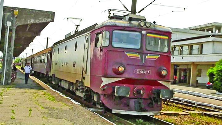 tren Continua curatenia la CFR
