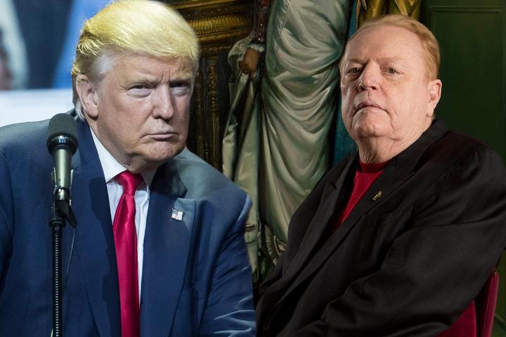 trump si flynt 10 milioane de dolari pe capul lui Trump