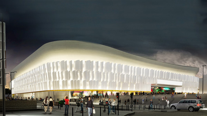 u arena 2 Rolling Stones inaugureaza cea mai mare arena acoperita din Europa