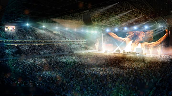 u arena 4 Rolling Stones inaugureaza cea mai mare arena acoperita din Europa