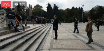 ziua armatei 350x171 Ziua Armatei. Iohannis, Dragnea, Tariceanu si Tudose, la ceremonia de la Parcul Carol