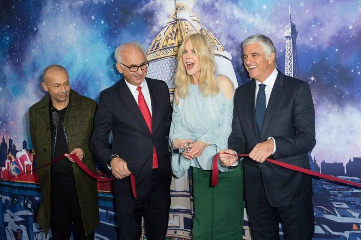 1 1 Nicole Kidman aduce atmosfera Craciunului la Paris