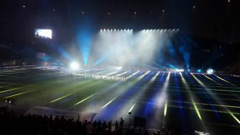 23435287 1491965224224507 1809100620432030621 n stadion 350x197 Noul stadion din Banie si a deschis portile. CSU Craiova a pierdut, insa, amicalul inaugural