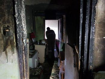23559832 1082597685176615 1710246666295162833 n incendiu bacau 350x263 Doi oameni la spital, dupa un incendiu intr un bloc din Moinesti