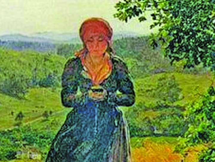 23584790 889067544592580 1669512886 n Tanara cu ochii in ecranul unui telefon mobil, intr un tablou din 1860!