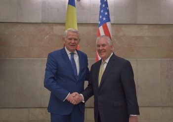 23621192 10159761111220454 5808298843845121978 n vizita 350x248 Cu cine s a intalnit secretarul de stat Tillerson la sosirea in Romania (FOTO)