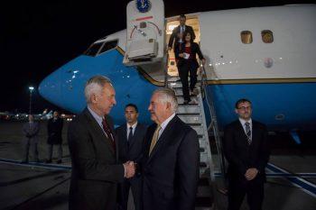 23621486 10159761111110454 6460757750110314902 n vizita 350x233 Cu cine s a intalnit secretarul de stat Tillerson la sosirea in Romania (FOTO)
