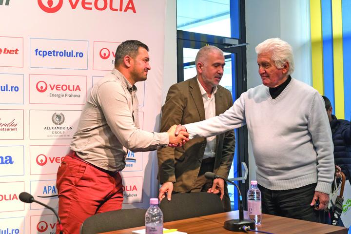 """3 1 1 Antrenor nou la Petrolul Ploiesti: """"Intentia este sa ajungem in Liga1"""""""