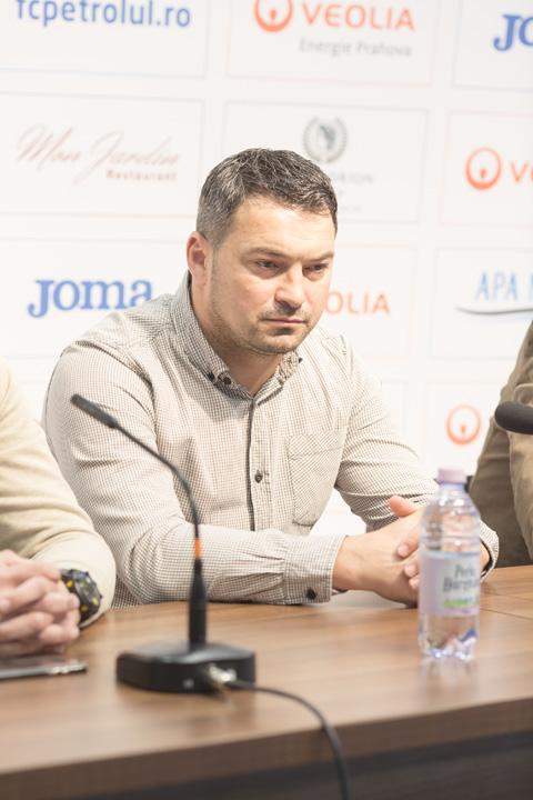 """7 1 Antrenor nou la Petrolul Ploiesti: """"Intentia este sa ajungem in Liga1"""""""