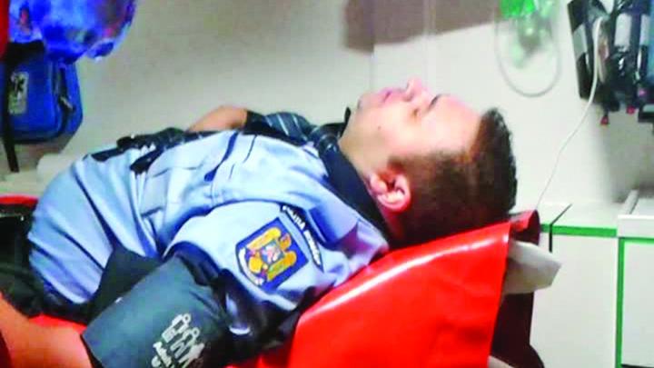 CAP politist Autoritatea organului, intarita de jandarm!