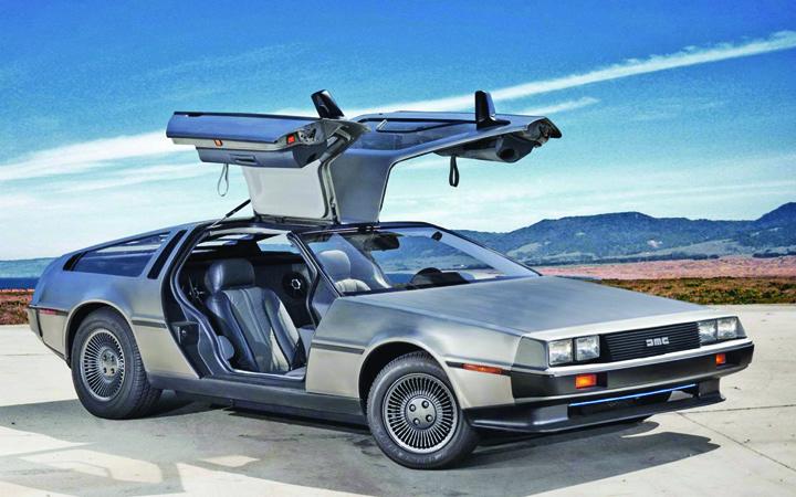 "DeLorean DMC 12 Tiriac si a tras ""masina timpului"""