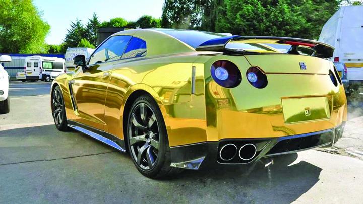 Gold Gold, o maşină de aur